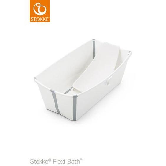 Stokke Flexi Bath Bundle , Weiß , Kunststoff , 35x24 cm