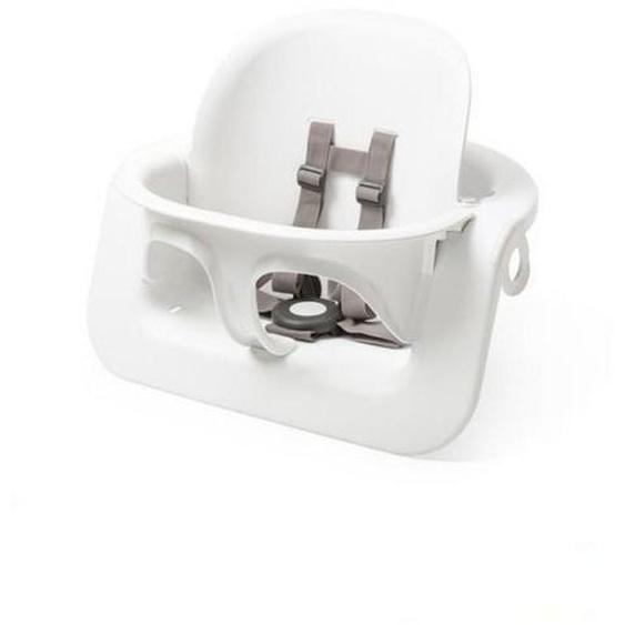 Stokke Hochstuhlbügel White Steps Babyset , Weiß , Kunststoff , 47x37x27 cm