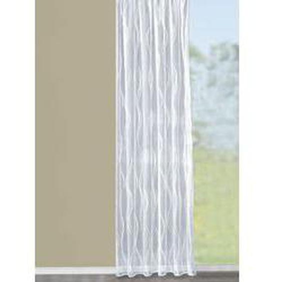 Store Welle mit Bleibandabschluss, Größe 136 (H100xB300 cm), Weiss