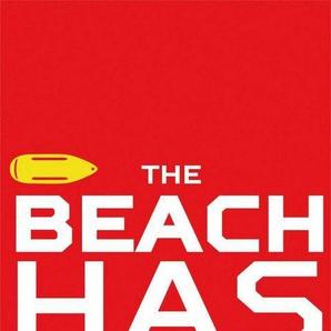 Strandtuch »Hotter Beach«, Baywatch, mit Schriftzug