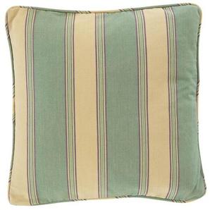 Streifenkissenhülle mint-beige-lila - bunt - 100 % Baumwolle - Zierkissen & Polsterrollen  Zierkissen - Kissenbezüge