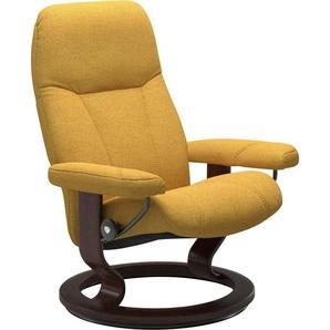 Stressless® Relaxsessel »Consul«, mit Classic Base, Größe S, Gestell Braun