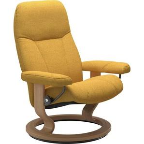 Stressless® Relaxsessel »Consul«, mit Classic Base, Größe S, Gestell Eiche