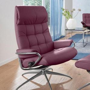 Stressless® Relaxsessel »London«, mit Star Base, in 2 Höhen, mit Schlaffunktion, Hochlehner