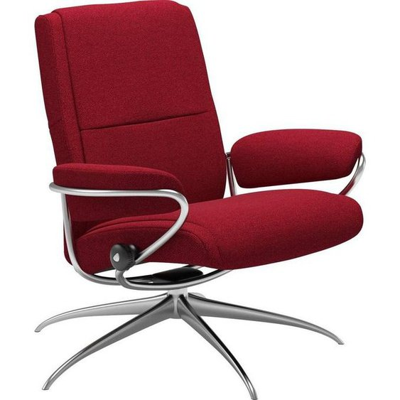 Stressless® Relaxsessel »Paris«, Low Back, mit Star Base, Gestell Chrom