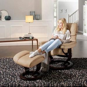 Stressless® Relaxsessel »Ruby«, mit Classic Base, Größe S, Gestell Eiche, Wenge, Braun & Schwarz