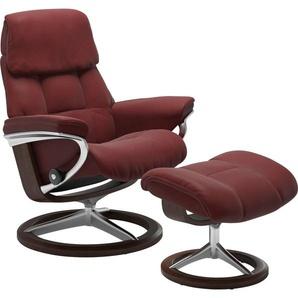 Stressless® Relaxsessel »Ruby« (Set, 2 tlg), mit Hocker, mit Signature Base, Größe M, mit Schlaffunktion