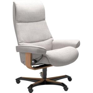 Stressless® Relaxsessel »View«, mit Home Office Base, Größe M,Gestell Eiche
