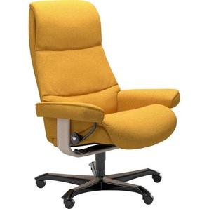 Stressless® Relaxsessel »View«, mit Home Office Base, Größe M,Gestell Whitewash