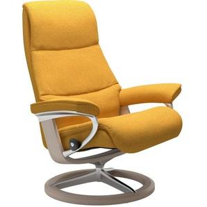 Stressless® Relaxsessel »View«, mit Signature Base, Größe L,Gestell Whitewash