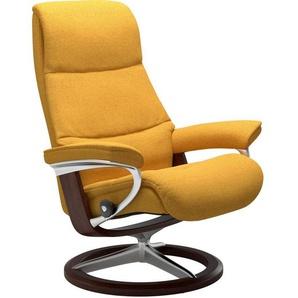 Stressless® Relaxsessel »View«, mit Signature Base, Größe S,Gestell Braun