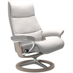 Stressless® Relaxsessel »View«, mit Signature Base, Größe S,Gestell Whitewash