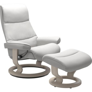 Stressless® Relaxsessel »View« (Set), mit Classic Base, Größe L,Gestell Whitewash