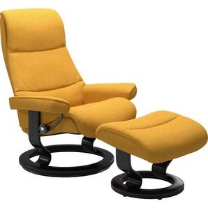 Stressless® Relaxsessel »View« (Set), mit Classic Base, Größe M,Gestell Schwarz