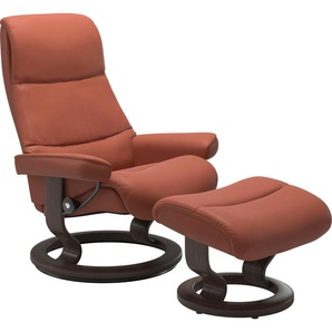 Stressless® Relaxsessel »View« (Set), mit Classic Base, Größe M,Gestell Wenge
