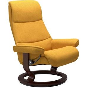 Stressless® Relaxsessel »View« (Set), mit Classic Base, Größe S,Gestell Braun