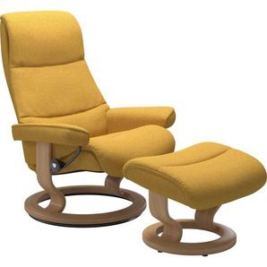 Stressless® Relaxsessel »View« (Set), mit Classic Base, Größe S,Gestell Eiche