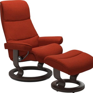 Stressless® Relaxsessel »View« (Set), mit Classic Base, Größe S,Gestell Wenge