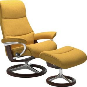 Stressless® Relaxsessel »View« (Set), mit Signature Base, Größe L,Gestell Braun