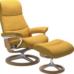Stressless® Relaxsessel »View« (Set), mit Signature Base, Größe L,Gestell Eiche