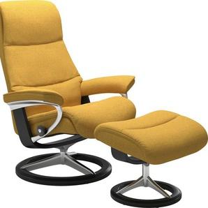 Stressless® Relaxsessel »View« (Set), mit Signature Base, Größe M,Gestell Schwarz