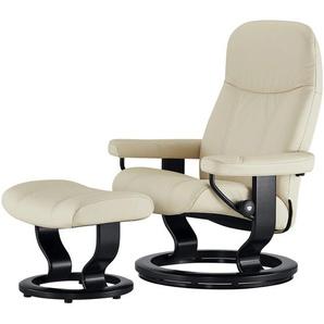 Stressless Relaxsessel mit Hocker  Consul - creme - 85 cm - 100 cm - 77 cm | Möbel Kraft