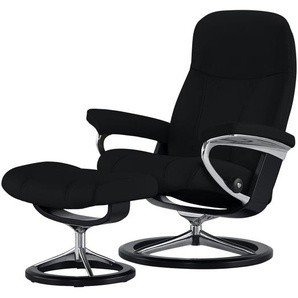 Stressless Relaxsessel mit Hocker  Consul L ¦ schwarz