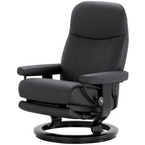 Stressless Sessel mit elektr. Relaxfunktion  Garda M - schwarz - 76 cm - 100 cm - 71 cm   Möbel Kraft