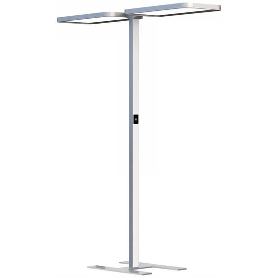 STUDIO BUTLER DUO | LED Stehleuchte - Lampe Weissaluminium