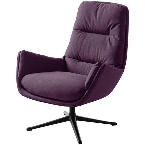 Studio Copenhagen Sessel Garbo III Violett Webstoff 83x95x92 cm (BxHxT)