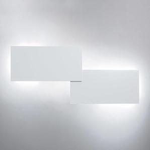 Studio Italia Design Puzzle Double Rectangle LED Wand- / Deckenleuchte