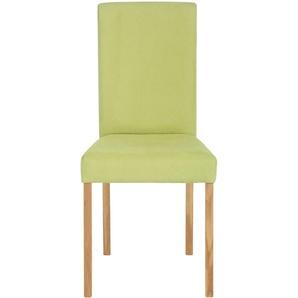 Home affaire Stühle, grün, 2er Set, FSC®-zertifiziert