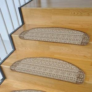 Stufenmatte »Elvet«, Living Line, stufenförmig, Höhe 6 mm, Sisaloptik