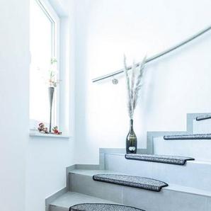 Stufenmatte »Newport«, Andiamo, halbrund, Höhe 8,5 mm, meliert, erhältlich als Set mit 2 Stück oder 15 Stück