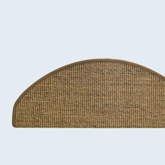 Stufenmatten einzeln oder im 15er Set ca. 4/66/24 cm, braun Teppiche Fußmatten