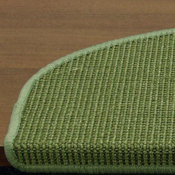 Stufenmatten einzeln oder im 15er Set ca. 4/66/24 cm, grün Teppiche Fußmatten