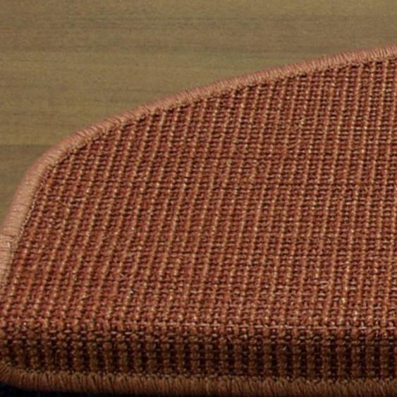 Stufenmatten einzeln oder im 15er Set ca. 4/66/24 cm, orange Teppiche Fußmatten