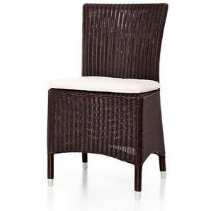 Stuhl Daryll braun, 86x45x55.5 cm