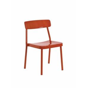 Stuhl Grace Emu Group orange, Designer Samuel Wilkinson, 78x50x52 cm