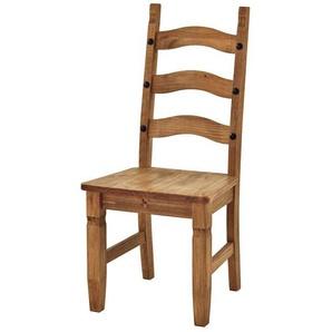Stuhl im Mexiko Stil Antik gewachst (2er Set)