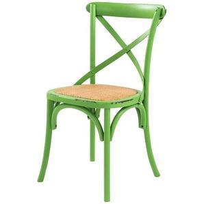 Stuhl im Used-Look  Xabi ¦ grün