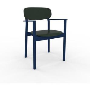 Stuhl in Tannengrün 52 x 82 x 58 cm einzigartiges Design, konfigurierbar