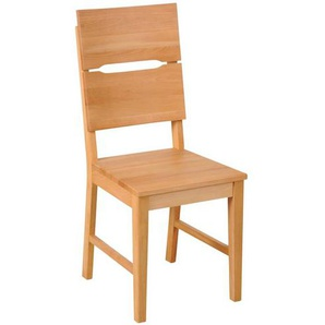 Stuhl Set aus Kernbuche Massivholz ge�lt (2er Set)