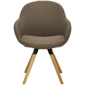 Stuhl  Tom ¦ Maße (cm): B: 60 H: 83 T: 64 Stühle  Esszimmerstühle  Esszimmerstühle mit Armlehnen » Höffner