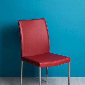 Stuhl Tonia rot, 93x47x54 cm