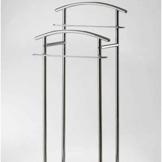 stummer Diener, 43x114x30 cm (BxHxT), GGG MÖBEL, silber