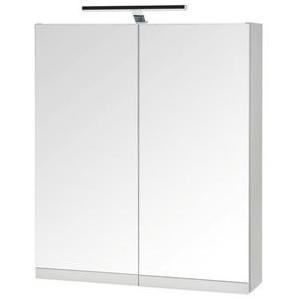 Stylife: Spiegelschrank, Glas, B/H/T 60 70,5-74 16