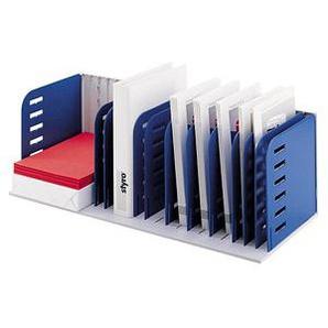 styro Sortierstation styrorac grau/blau mit 7 Fächern