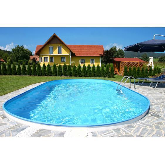 Summer Fun Stahlwand Pool FORMENTERA Ovalform 525 cm x 320 cm x 150 cm