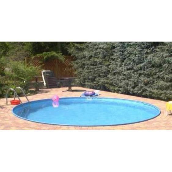 Summer Fun - Stahlwandbecken Java Exklusiv rund ø 6,00m x 1,20m Folie 0,6mm Einzelbecken Pool Rundpool / 600 x 120 cm Stahlwandpool Rundbecken